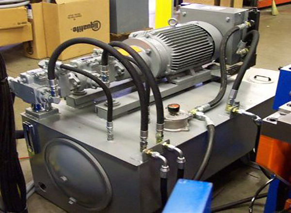 Hydraulic Power Unit Built to Application Demands